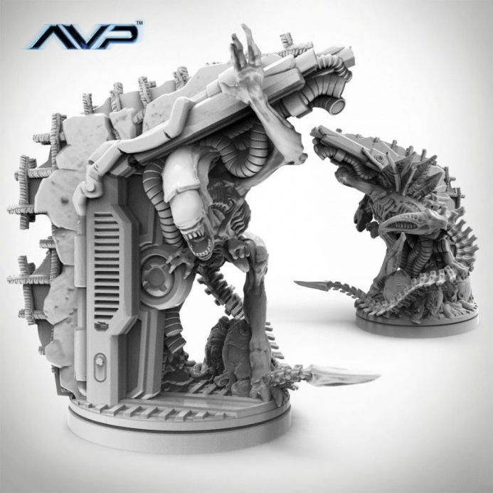 AvP: The Hunt Begins – Alien Queen UniCast Edition | Buy now at The G33Kery - UK Stock - Fast Delivery